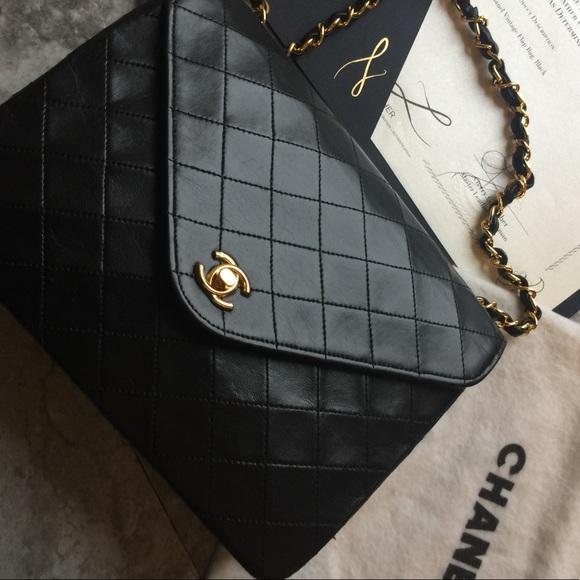CHANEL Bags   Authentic Flap Bag   Poshmark 7bcbbaf484